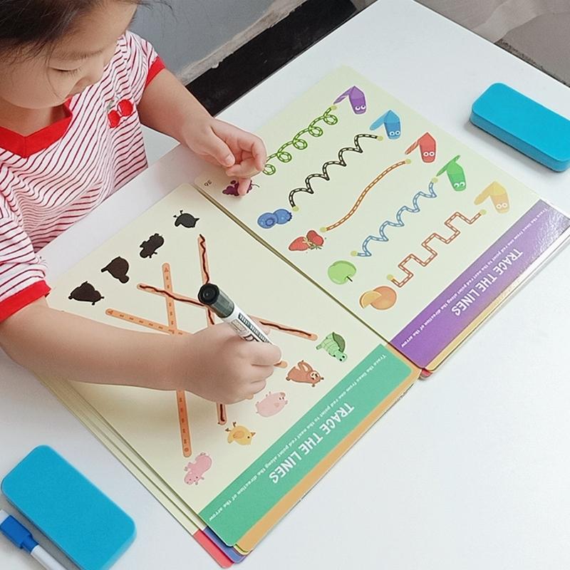 益趣幼儿控笔训练幼儿园精细趣味启蒙儿童专注力玩具早教益智运笔