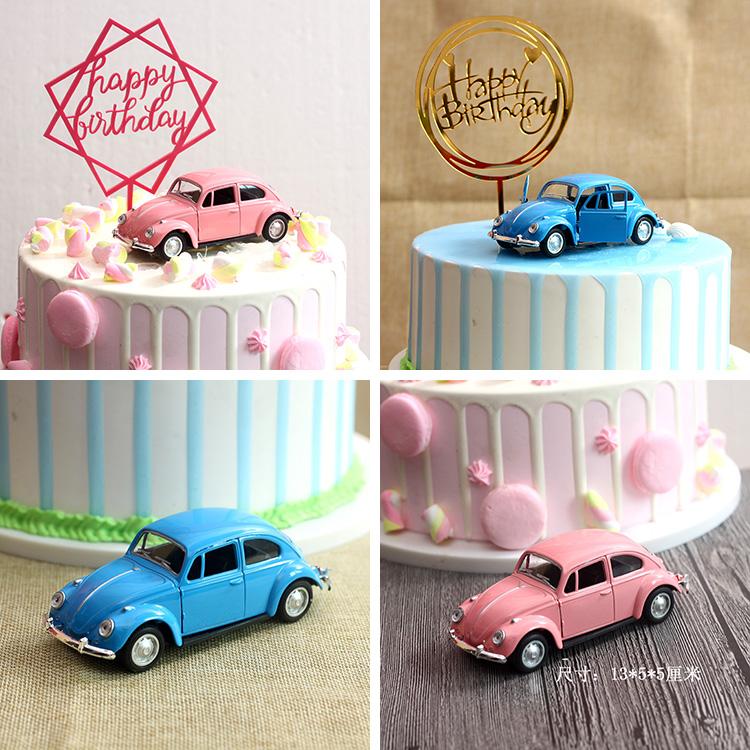 Usd 6 73 Car Decoration Pink Car Cake Decoration Car Model Birthday