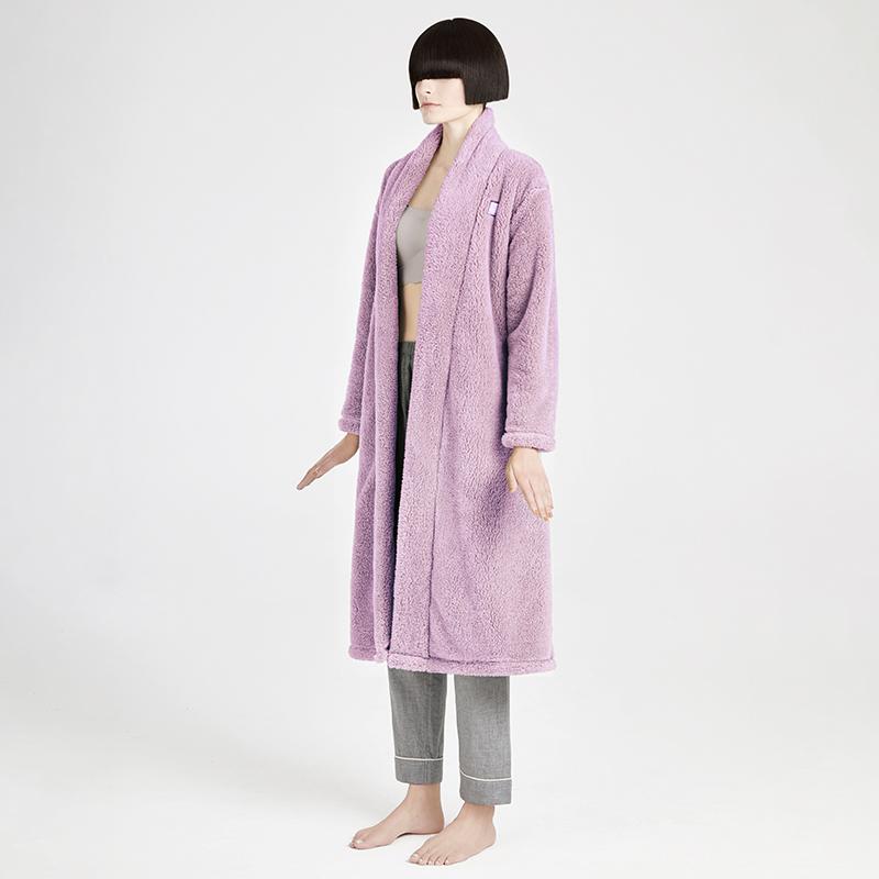 【大朴】情侣睡袍新款棉绒加厚