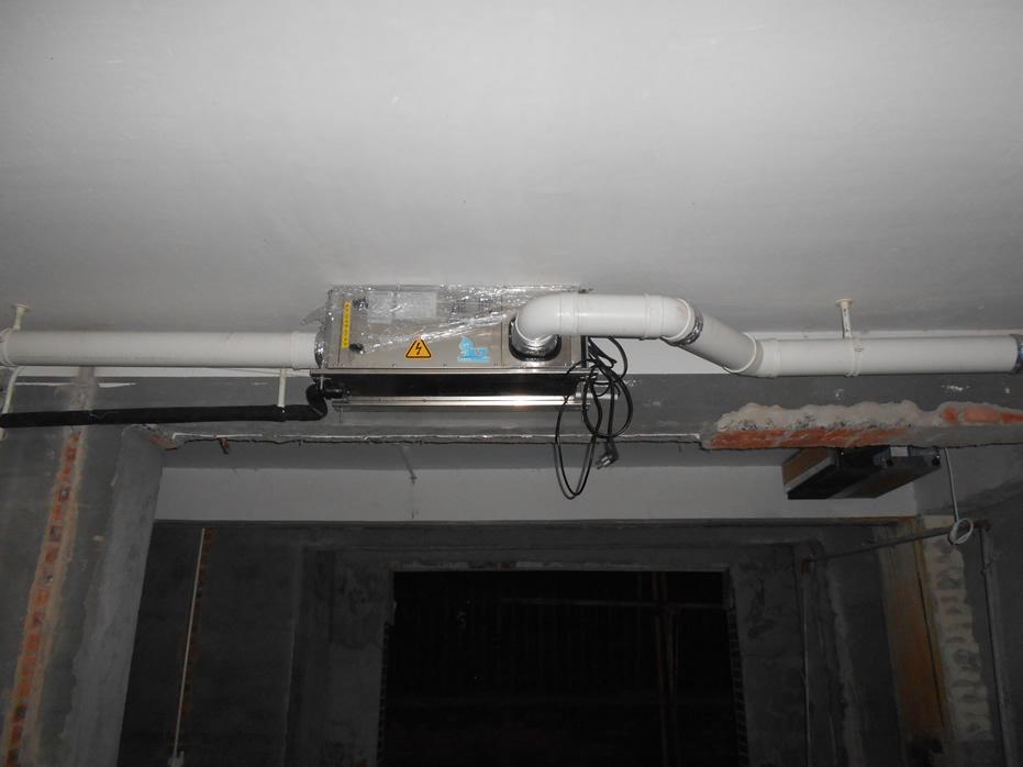 湿腾吊装式中央管道五分快三APPGST-38LD