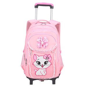芭菲尼升级版儿童拉杆书包套装包