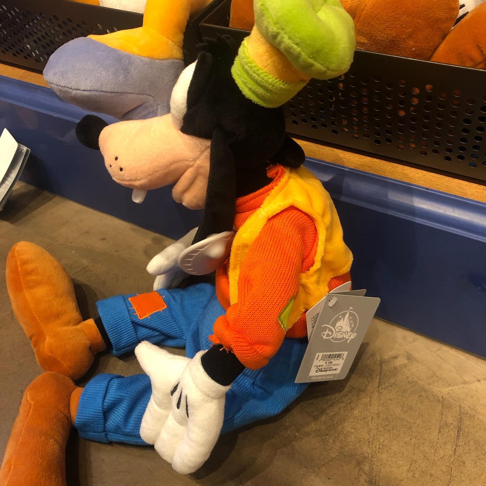 上海迪士尼唐老鴨毛絨玩具黛絲娃娃布魯托毛絨玩偶高飛公仔禮物女