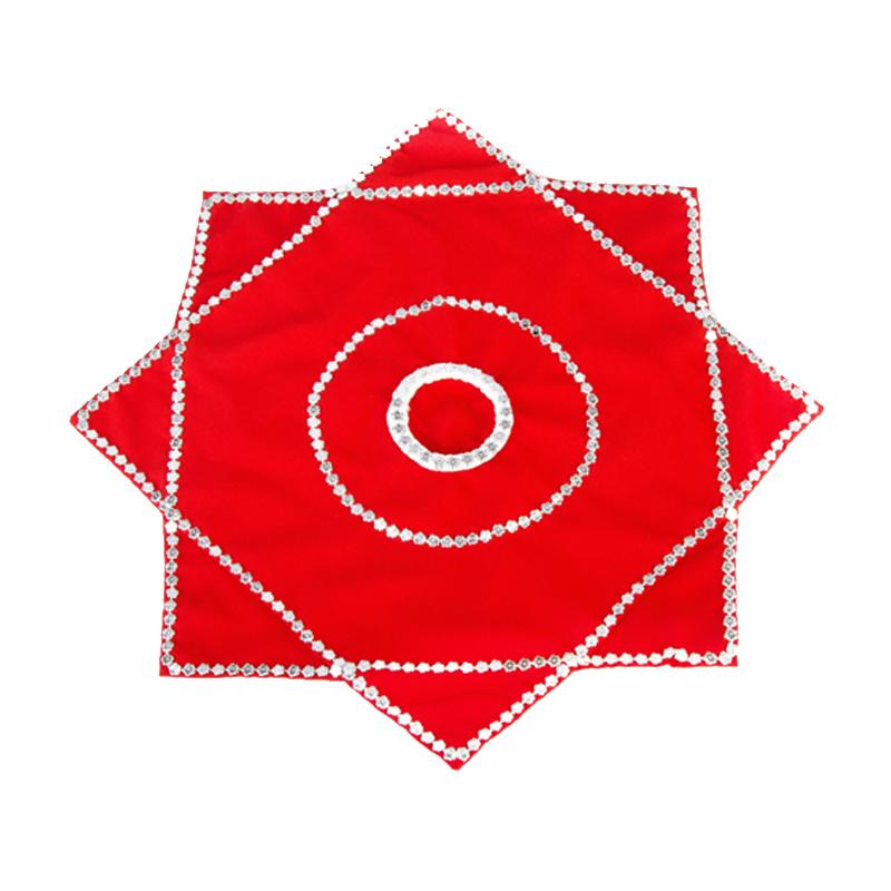 Аксессуары для Янгэ Пара платочков цветок танцы танцевальный профессиональный экзамен рта для взрослых крупных на северо-восток 秧歌 детского сада для детей с