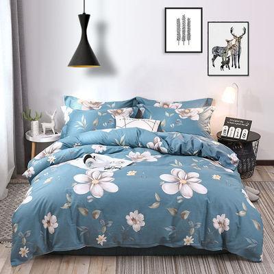 单人双人被套单件1.1/1.5/1.8/2.0m床被罩大学生宿舍儿童床上用品