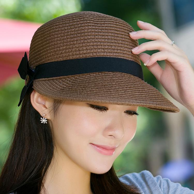 bb1cfaf9951 Hat Ladies summer straw hat visor beach hat sunscreen sun hat cap cap  equestrian hat outdoor