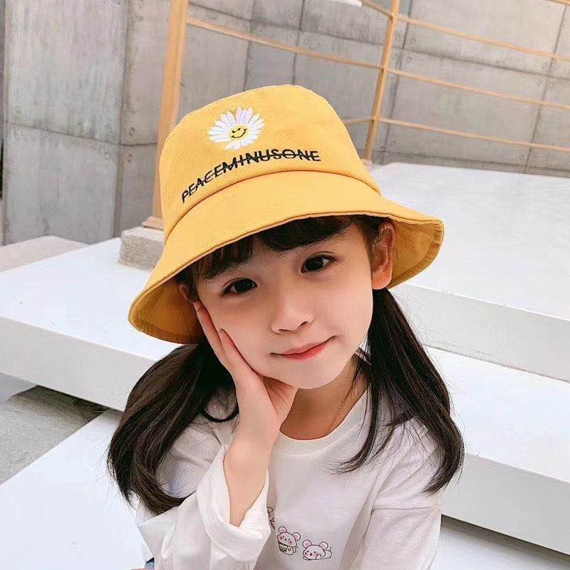 春款亲子儿童盆帽渔夫帽