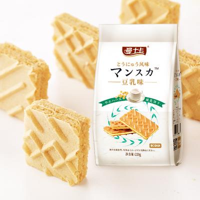 网红零食!小红书推荐豆乳威化饼干