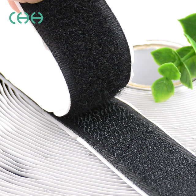 Double Sided Adhesive Tape Attached Velcro Strap Velcro Picture Screens Mosquito Curtain From Sticking Adhesive Tape