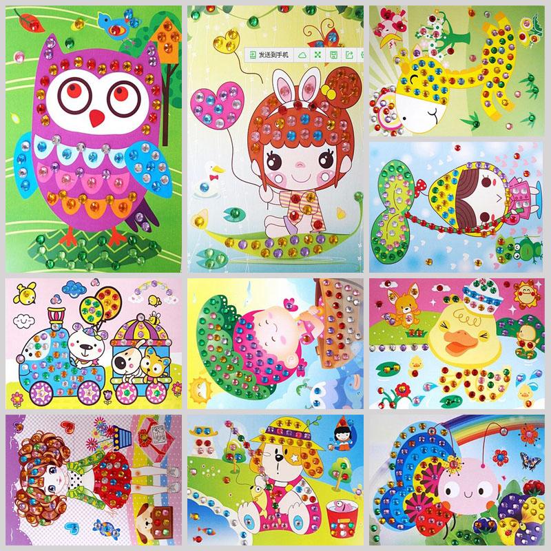 儿童EVA手工贴画马赛克贴画儿童益智玩具儿童婴幼儿礼物礼品