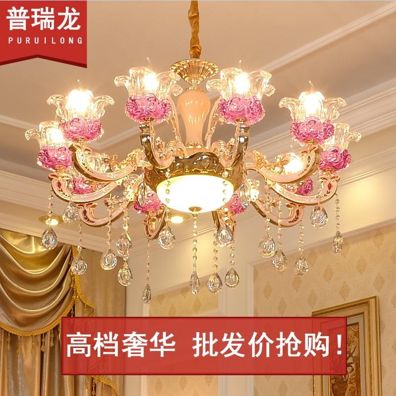 欧式吊灯餐厅灯简约现代卧室客厅主灯具大气灯奢华家用锌合金大厅