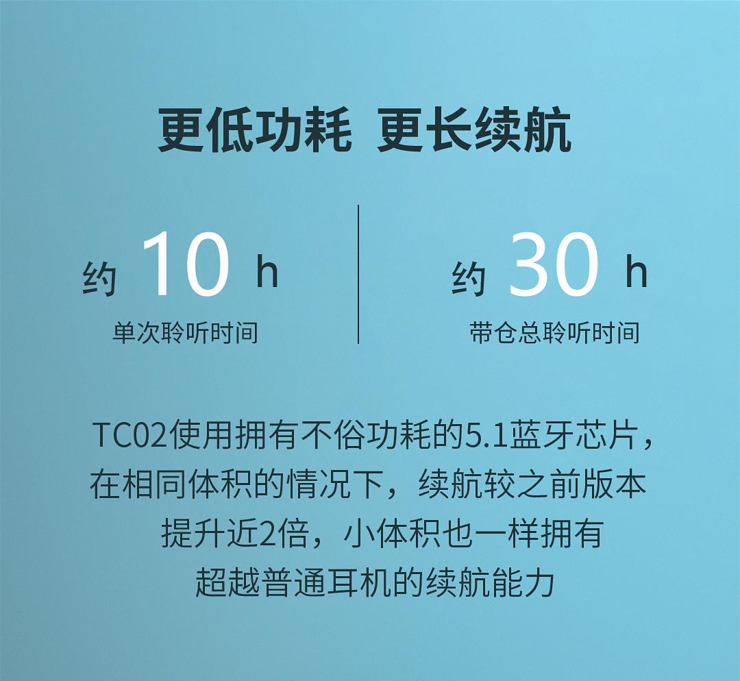 联想 TC02 智能触控 5.1蓝牙耳机 支持单双耳 图6
