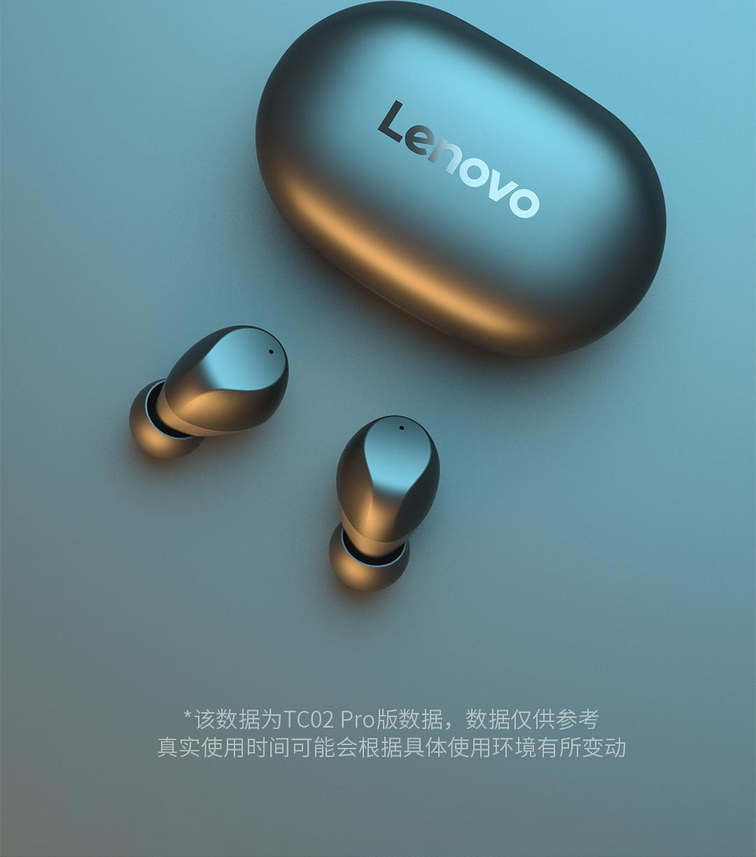 联想 TC02 智能触控 5.1蓝牙耳机 支持单双耳 图7