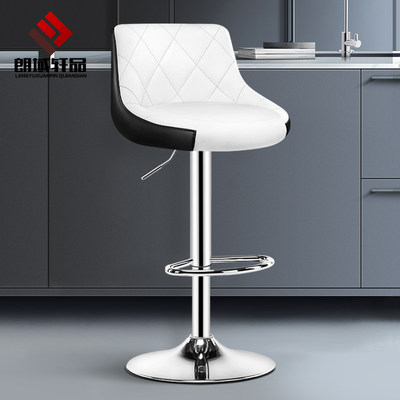 Bar table chair lifting chair home stool front bar chair bar chair modern minimalistic high stool back high bar stool
