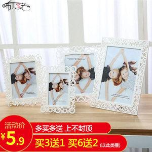 欧式现代简约相框摆台7寸6 8 10寸七寸儿童照片框创意画框相片框
