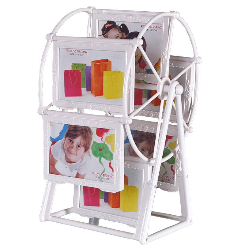 Modern minimalist Ferris wheel photo frame set 5 inch 7 inch ...