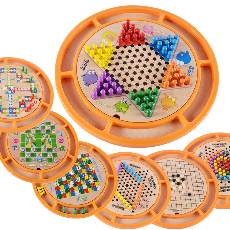 USD 37.07 Children's puzzle toys 3-4-6-7-9 year old boys ...