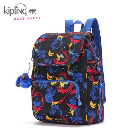 Kipling凯浦林双肩包印花17秋冬新款K70740休闲轻便背包 699元