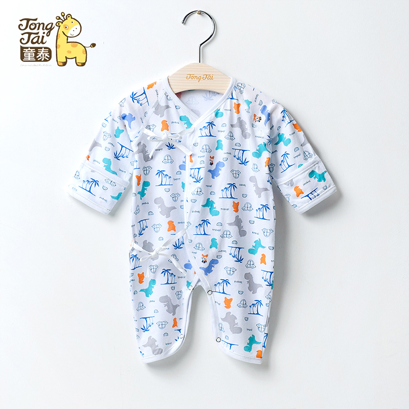 199660526 USD 13.51  Tong Tai newborn conjoined clothing butterfly baby ...