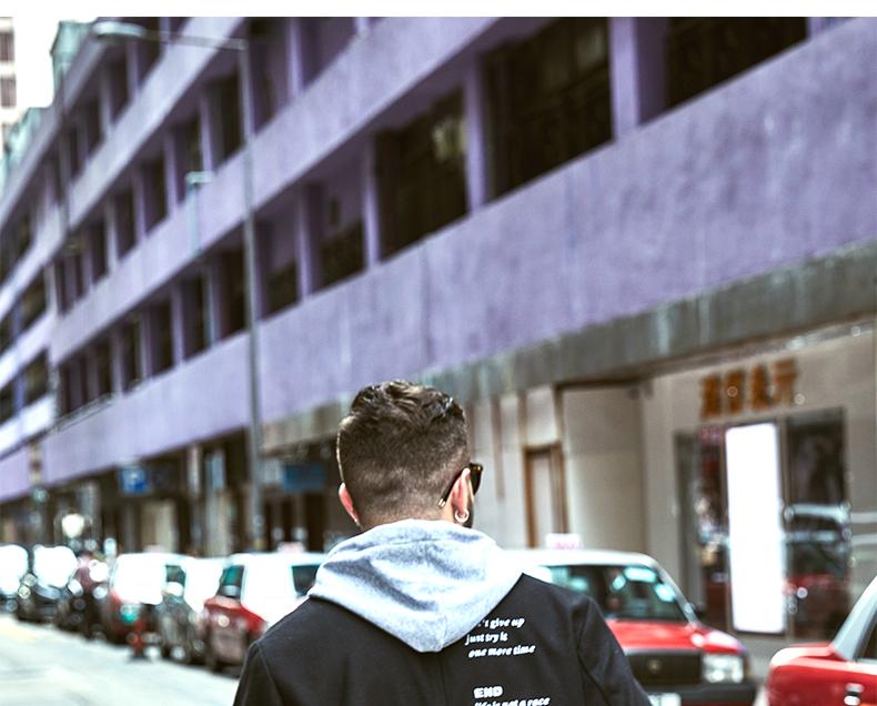 AMAPO tide thương hiệu lớn kích thước của nam giới chất béo cộng với phân bón để tăng lỏng hip hop áo len áo giản dị nam triều