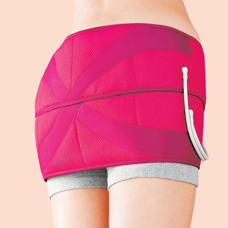 松下盆骨按摩仪产后收胯提臀美臀腿塑型恢复带便携电动按摩器NA75