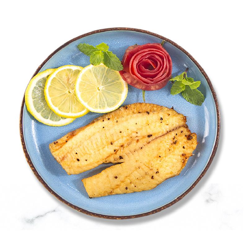 鱼片鱼排鱼柳无骨无刺罗非鱼鲷鱼片新鲜冷冻营养免腌鱼块辅食鱼