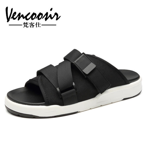 61d8c1fc5dac Slippers men s 2019 new summer personality outdoor beach sandals ...