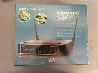 Cisco / Cisco wireless router WRV210-CN enterprise-class VPN router dual antenna