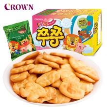 【韩国进口】可瑞安小动物饼干55gX4盒