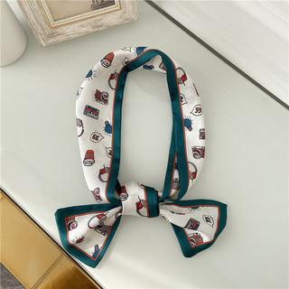 Весна небольшой шарфы женщины украшения корея шарф ins дикий корейский хорошо узкий весна наконечник шарф обмотка шарф, цена 146 руб