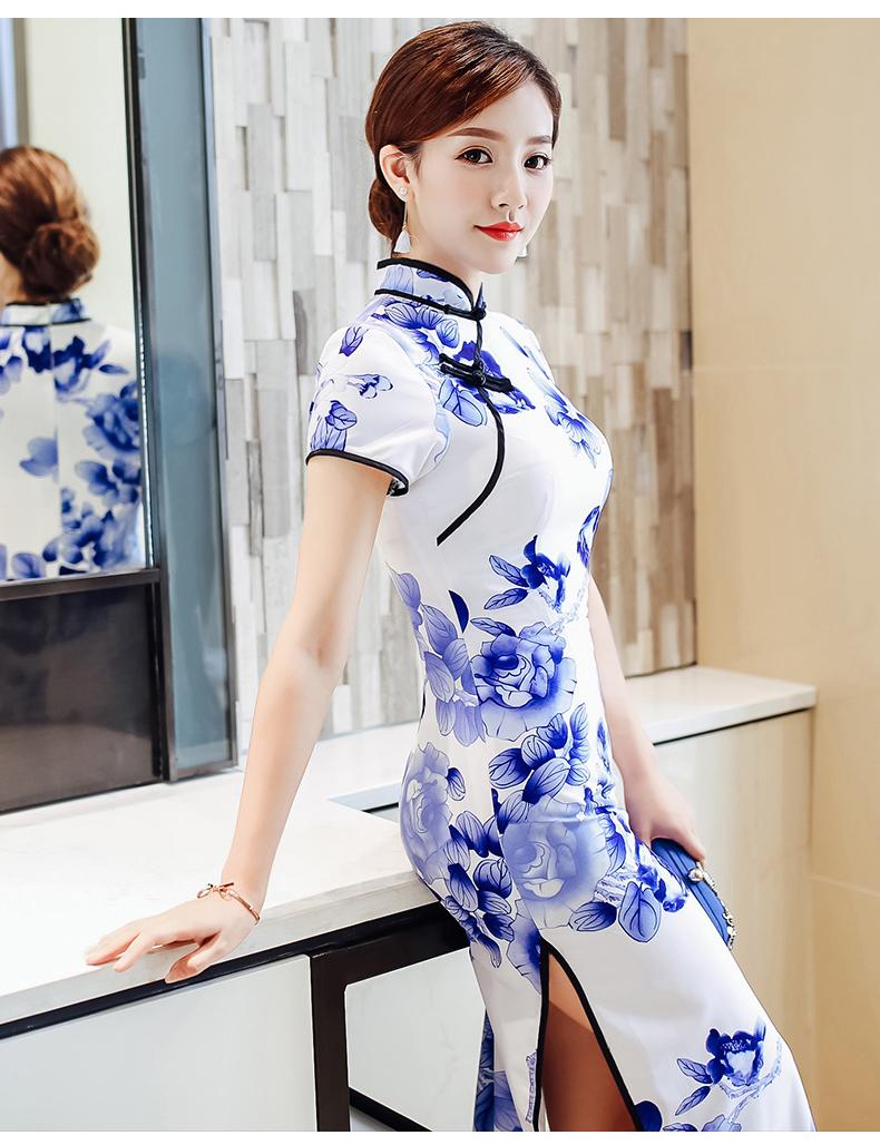 姿彩人生少女旗袍连衣裙(十五) - 花雕美图苑 - 花雕美图苑