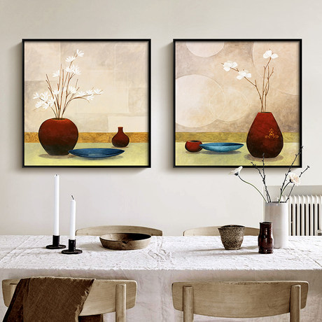 New Chinese Style Modern Dining Room Still Life Decoration Paintings Bedroom Bedside Murals Sofa Background Wall Paintings Dining Room Paintings