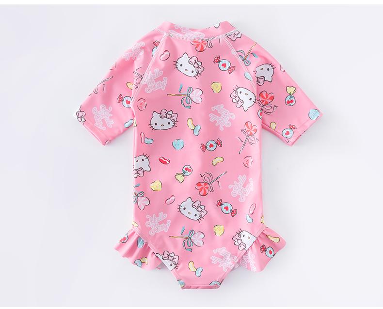 儿童泳衣女童宝宝公主游泳衣年新款中大童可爱泳装详细照片