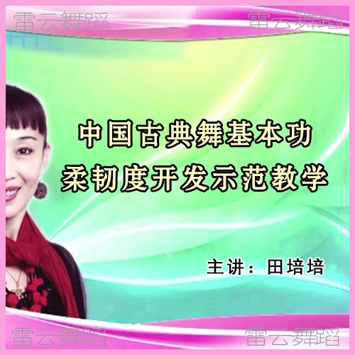 田培培中国古典舞基本功柔韧度开发教学课 软开度教学