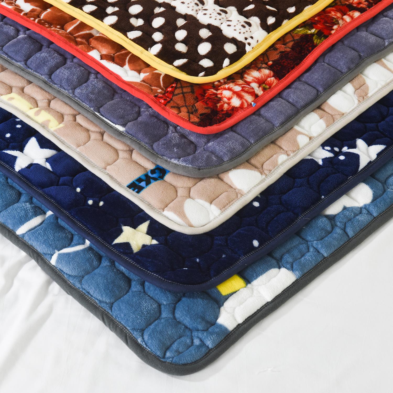 床垫1.8m床褥子1.5m双人垫被褥学生宿舍单人0.9米1.2m榻榻米绒垫