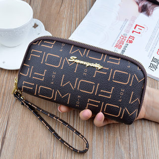 Women's hand purse, women's long style, fashionable temperament, zipper, new mother hand bag, mobile phone coin purse, female hand bag