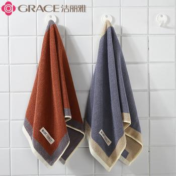Чистый изысканный полотенце хлопок мыть домой для взрослых мягкий вытирать лицо хлопок абсорбент утолщённый мужчина женщины любят спутник большое полотенце, цена 436 руб