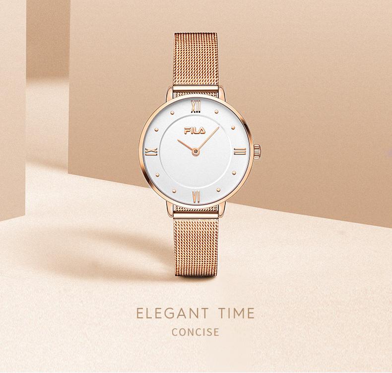 手錶女士表简约小錶盘正品时尚防水復古气质石英手錶详细照片