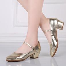 Танцевальная женская обувь четыре сезона красный