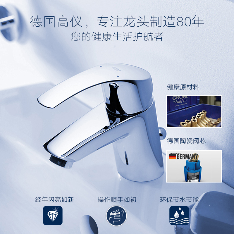 USD 703.04] Grohe Germany GROHE basin faucet audience basin faucet ...