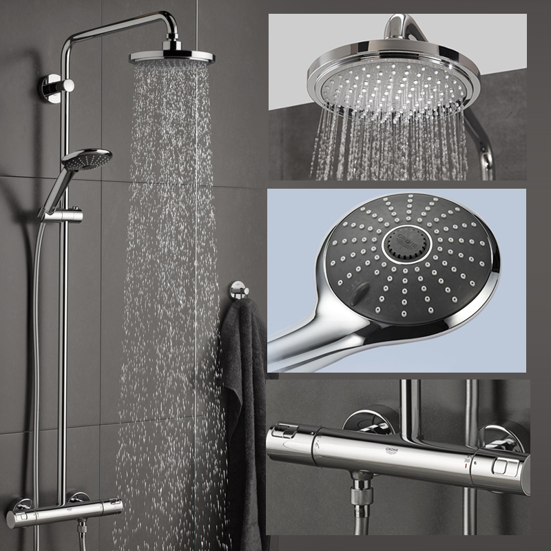 USD 5154.02] GROHE Germany Grohe one-piece shower set intelligent ...