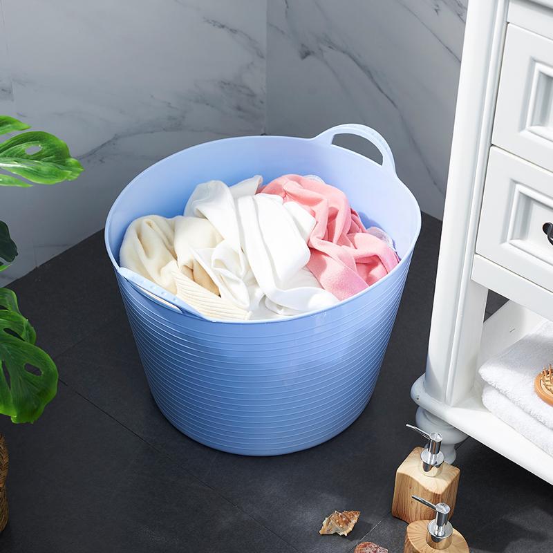 创意大号脏衣篮洗衣篮 玩具收纳篮收纳桶 玩具筐宝贝洗澡桶