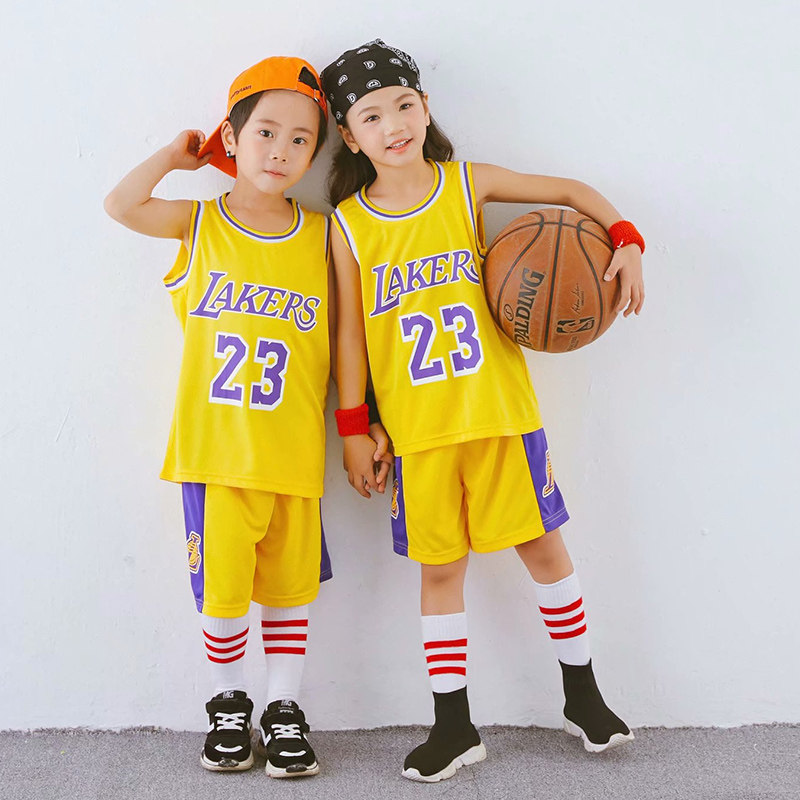 NEW LAKERS YELLOW 23 JAMES