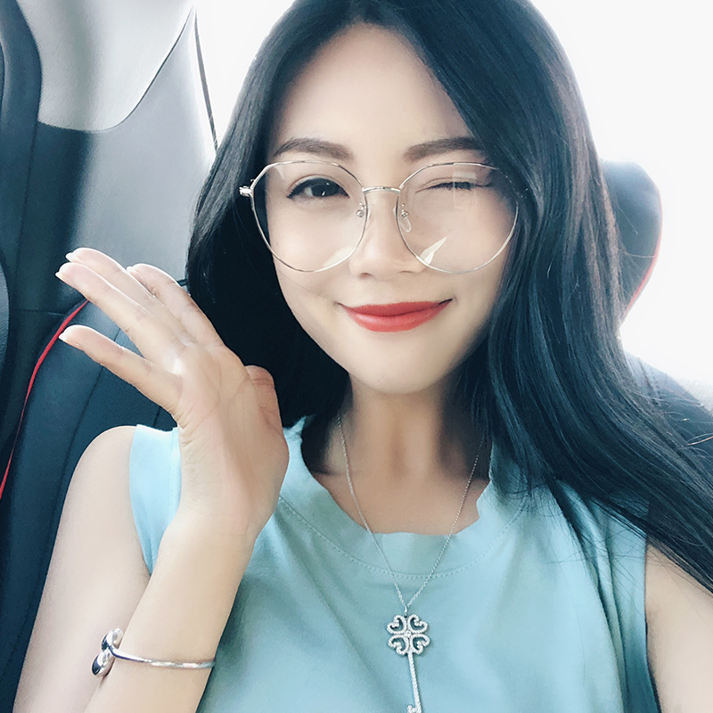 8be94c6e646de Glasses frame net red section myopia has a degree of face round face female  glasses Korean version of the retro tide Harajuku wind ulzzang