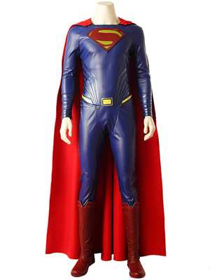 taobao agent Long way to the sky Justice League cos suit Superman one-piece cloak adult full set of COSPLAY clothing clothes