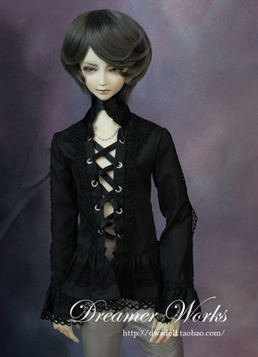 taobao agent BJD/SD 3 points 4 points doll clothes, noble lace shirt shirt 1/4, 1/3, uncle black and white selection