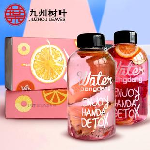 网红纯手工水果茶