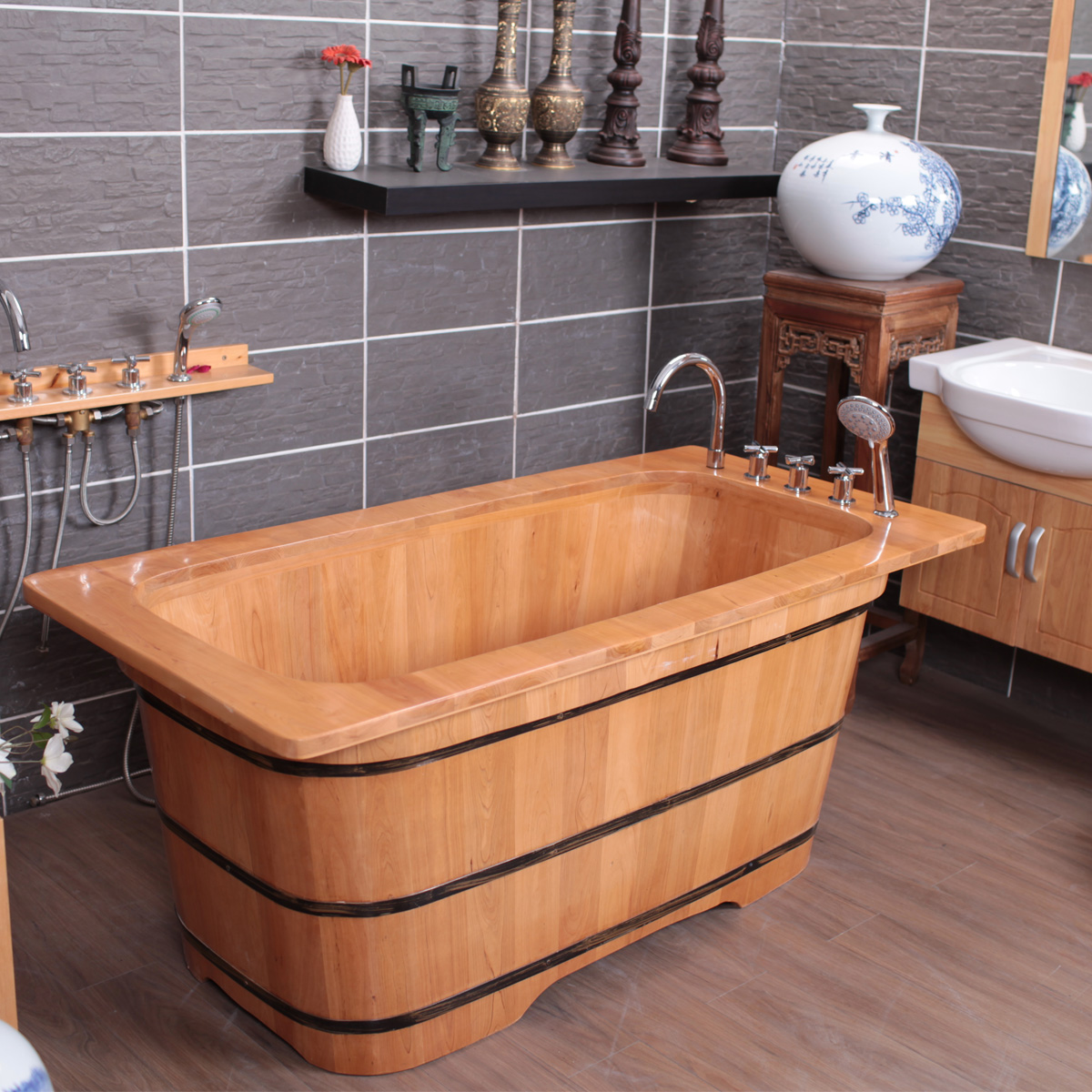 Oak Luxury Wooden Barrel Bath Tub In Water Tub Bathtub Bathtub Bathtub Bathtub Bathtub Bathtub Bathtub Bathtub Bathtub Bathtub Bathtub Bathtub Bathtub Bathtub Bathtub Bathtub Bathtub