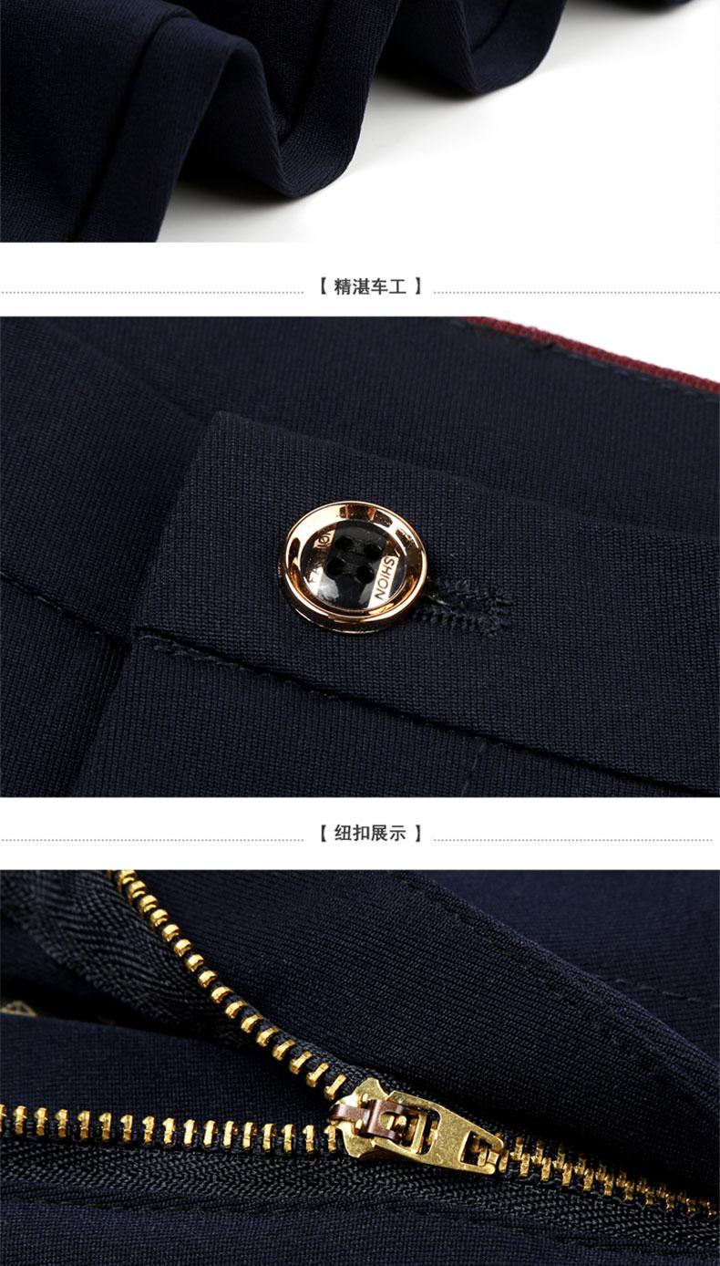 夏季韩版休閒裤男长裤烟管裤修身潮青少年男生裤子男士小西裤薄款详细照片