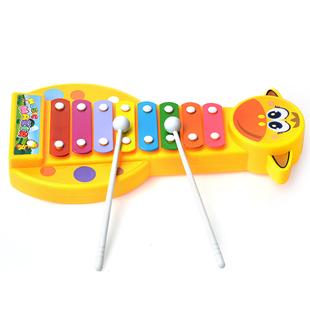 儿童音乐手敲琴益智婴幼儿乐器玩具