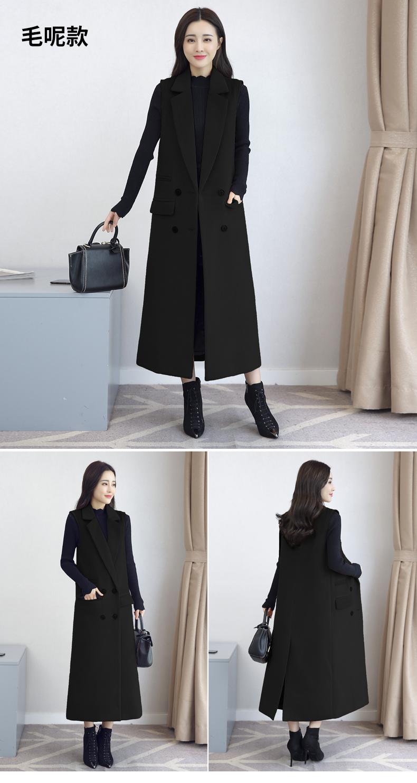 2018 mùa thu mới dài tay áo gió vest Hàn Quốc phiên bản của mỏng phù hợp với vest vest phụ nữ mùa xuân và mùa thu áo